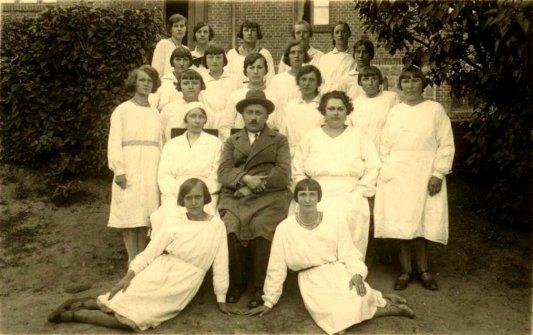 Jan Drahiem - kurs ratownictwa 1931