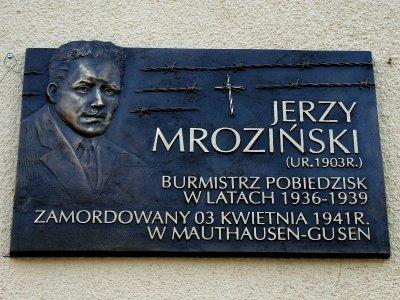 Jerzy Mrozi艅ski, Pobiedziska